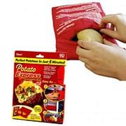 Мешочек для запекания картофеля в микроволновке Potato Express фото