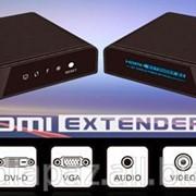 Коммутационный комплект HDMI Extender over IP LKV373 фото