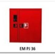 Шкаф пожарный,для пожарного рукава (с кассетой) и огнетушителя, навесной фото