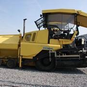 Колёсный асфальтоукладчик Demag,Колёсный асфальтоукладчик Demag DF 115 P/D, асфальтоукладчик DF 115 P/D фото
