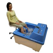 Бальнеологическая ванна для ног нафталановых процедур. фото