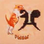 Набор-магнит для вышивания бисером FLA-028 фото