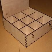 Короб для пакетиков чая (9 отделений) фото