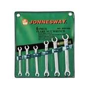 Набор ключей разрезных 8-19мм, 6 предметов, W24106S, Jonnesway фото