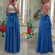 Юбка длинная, вечерняя юбка, юбка в пол фото