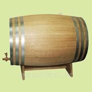 Бочка дубовая для вина и коньяка фото