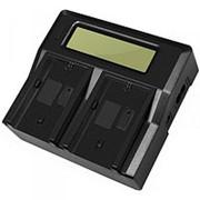 DuraPro Двойное зарядное LCD устройство для Panasonic VW-VBG070 фото