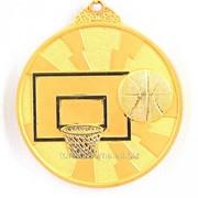 Медаль баскетбол - золото фото
