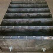 Металлоформа для бордюрного камня БР 3000х300х180 (8 изделий в форме) фото