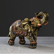 """Статуэтка """"Слон классный"""" бронза, 26 см, микс фото"""