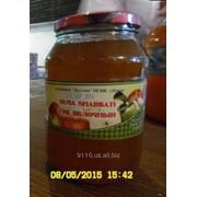 Сок Яблочный стекло банка (1 литр) фото