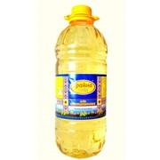 Масло подсолнечное рафинированное дезодорированное в бутылках ПЭТ 3 л. фото