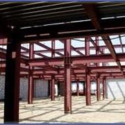 Изготовление и монтаж металлических каркасов зданий фото