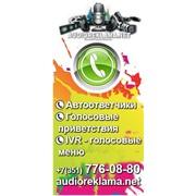 Заказать автоответчик, голосовое меню - IVR в Челябинске! фото