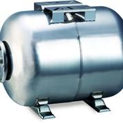 Гидроаккумулятор горизонтальный 50л (нерж) фото