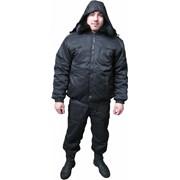 Куртка утепленная Пилот с мех воротником фото