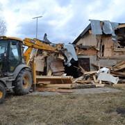 Слом, демонтаж зданий, строений фото