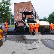 Асфальтирование и ремонт дорог, дворов и т.д. фото
