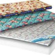 Наматрацники из хлопковых или мебельных тканей с объемным наполнителем из полиэфирных волокон