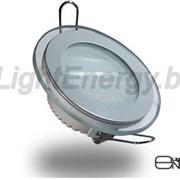 Светодиодный светильник LE-SKR-12 (220В., 12Вт., 6000К холодный белый) фото