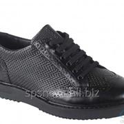 Туфли мужские 161-035, черный фото