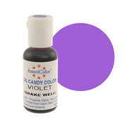 Краситель масляный AmeriColor Violet 18 г (цвет СС22.65) фото