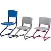 Ортопедический стул Дэми. Растущий в трех плоскостях стул СУТ.01 (цвет металлоконструкций серый, розовый, синий) ) фото
