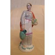 Статуэтка Женщина с тыквой ЛФЗ фото