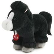 Trudi Черный конь, 15см (51127) фото