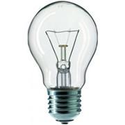 Лампа 60W E27 230V A55 прозрачная Philips фото