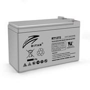 Аккумуляторная батарея AGM RITAR RT1272, Gray Case, 12V 7.2Ah (151 х 65 х 94 (100) ) Q10 фото