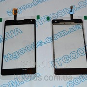 Тачскрин / сенсор (сенсорное стекло) для LG Optimus G LS970 E971 E973 E975 E976 E977 F180 (черный цвет)+СКОТЧ фото