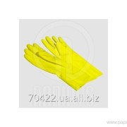 Перчатки резиновые L York 9201 1шт фото