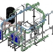 Монтаж внешних инженерных сетей: водоснабжения, внешней хозяйственно-бытовой и ливневой канализации, тепловых, котельных, бойлерных установок, газоснабжения газораспределительных пунктов и установок, компрессорных станций,теплотрассы фото