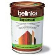 BELINKA TOPLASUR (БЕЛИНКА ТОПЛАЗУРЬ ) — толстослойная лазурь, колеруемая фото