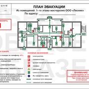 Планы эвакуации и знаки пожарной безопасности фото