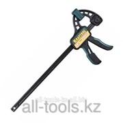 Струбцина Kraftool EcoKraft ручная пистолетная, пластиковый корпус, 300/500мм, 150кгс Код: 32226-30 фото