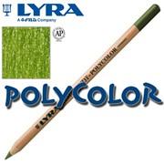 Высококачественные художественные карандаши Lyra Rembrandt Polycolor Зеленый мох фото