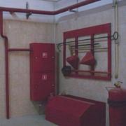Монтаж внутренних систем пожарного водопровода фото