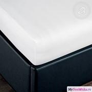 Простыня трик. на резинке Подснежник (256, 200х200, Белый) фото
