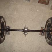 Ступица колеса на заднюю ось Bashan BS250S-24 фото