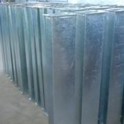 Прямоугольные воздуховоды из оцинкованной листовой стали 0,7мм фото