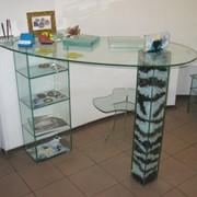 Резка листового стекла, зеркала по размерам или шаблонам заказчика фото