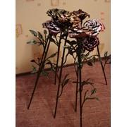 Кованая роза фото