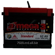 Аккумулятор Amega Standard 62 Ah фото