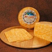"""Сыр твердый сычужный """"Мраморный"""" фото"""