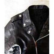 Замена подкладки в кожаной куртке фото