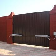 Ворота автоматические фото