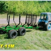 Полуприцеп лесовозный тракторный ПЛТ-11М фото