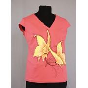 Блузка трикотажная фото